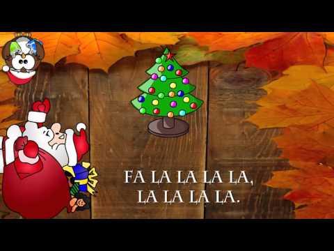 villancicos-en-inglés:-ya-llegó-la-navidad-con-letra-en-inglés-(fa-lalalala-lalalala)