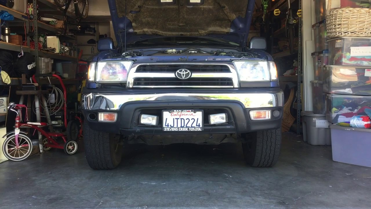 How To Install Led Headlights 4runner