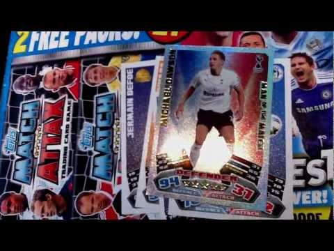 Match Attax 11 12 MOTD With Free 2 Packs Magazine