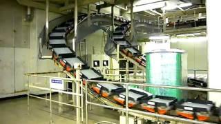 朝日新聞東京本社地下1階朝日東京プリンテック築地工場にあるニュース...