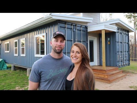Couple Builds SHIPPING CONTAINER HOME With No Experience from YouTube · Duration:  15 minutes 45 seconds