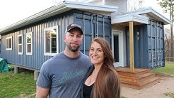 Couple Builds SHIPPING CONTAINER HOME With No Experience