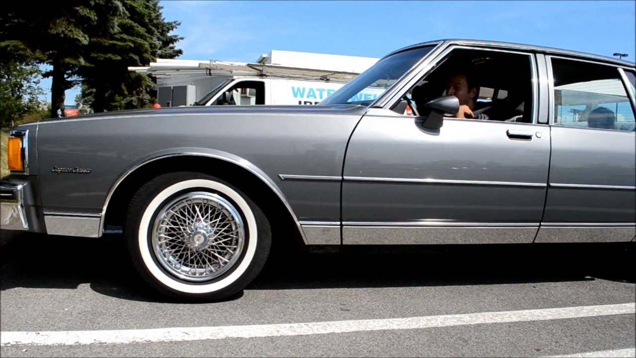 '85 CHEVY CAPRICE CLASSIC WITH 35,000 KM !