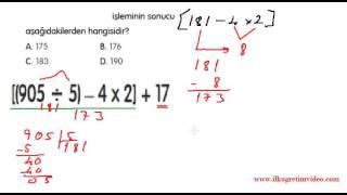 5. Sınıf Doğal Sayılarda Bölme (yok böyle bir anlatım) Video