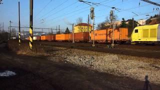 Nákladní vlaky na trati 072