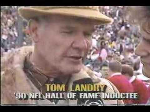 Earl Campbell & Tom Landry interviews 1.1.91
