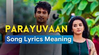 Parayuvaan Ithadyamayi Song Lyrics meaning in English Translation Video   ISHQ Malayalam Movie Song