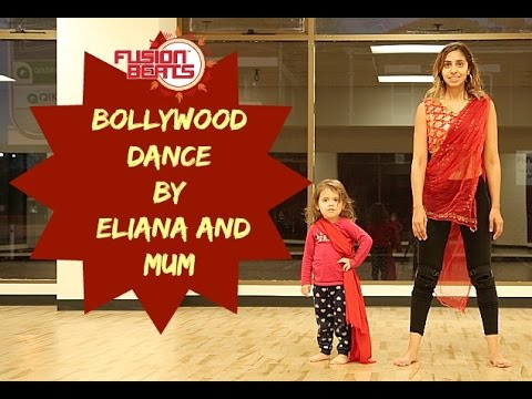 India Waale (Happy New Year) | Mum and 3 Year old Bollywood Dance | Dance with Eliana!