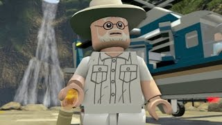 LEGO Jurassic World Walkthrough Part 5: Escaping the Park (Jurassic Park Finale)
