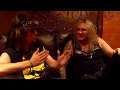The Dude from 106.5 KWHL interviews Michael Starr of Steel Panther at the HOB Las Vegas 8-31-2013