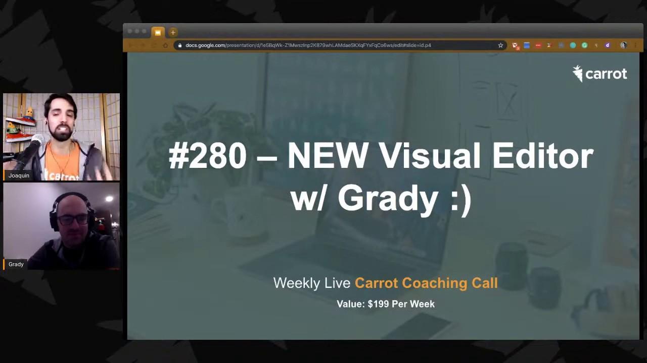Coaching Call, Dec 10