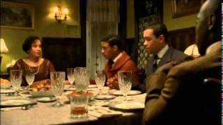 Chalky White: This is my house dinner scene