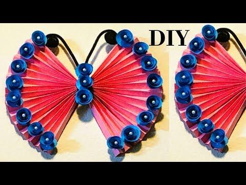 DIY/ Beautiful Paper wall decoration ideas/ Paper Wall hanging / Paper Crafts/ CrazeeCrafts