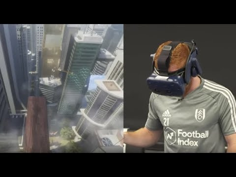 We Got Fulham Players to 'Walk the Plank' on VR and They Nearly S--t Themselves  😂