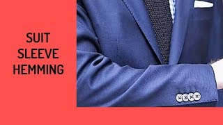 How To Hem Suit Coat Sleeves With Buttons - Trailer