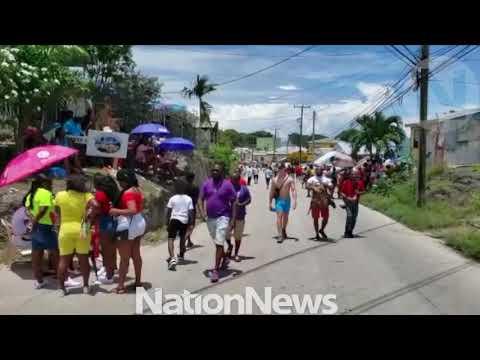 Nation Update : Spectators Go To Vantage Points