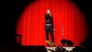 Elizabeth Hubbard Fort Plain POPS concert 2012