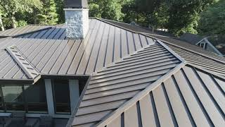 Standing Seam Metal - Lakewood, IL, installed by CRC Cedar Roofing Company