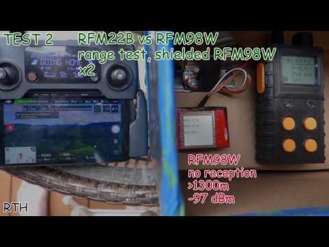 Is RFM98W LoRa a Fake? – MSH projects