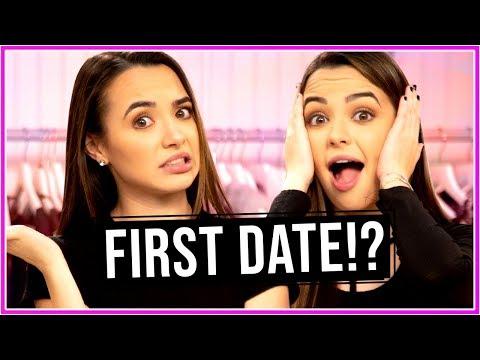 Merrell Twins FIRST DATE Outifts?! | Closet Wars