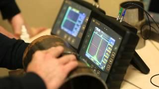 видео Ультразвуковой контроль сварных соединений