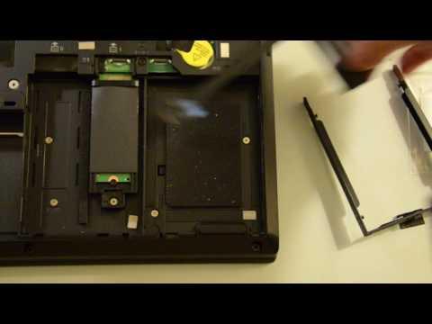 """Lenovo ThinkPad P50 2.5"""" SSD/Hard Drive Install"""