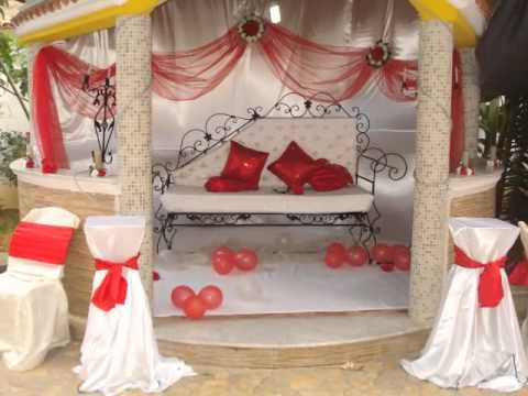 decoration mariage deco salles fetes organisatrice de fetes algerie youtube. Black Bedroom Furniture Sets. Home Design Ideas