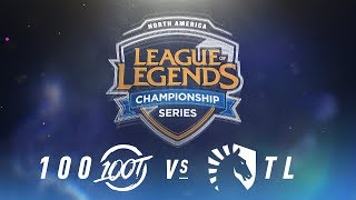 Video 100 vs. TL - Week 2 Day 1 | NA LCS Spring Split | 100 Thieves vs. Team Liquid (2018) download MP3, 3GP, MP4, WEBM, AVI, FLV Juni 2018