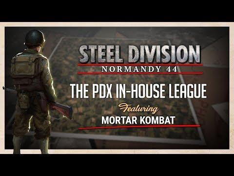 Steel Division: Normandy 44 Show Match - Mortar Kombat
