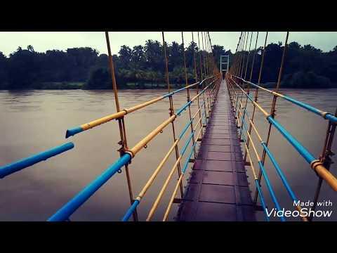 Hanging bridge udupi manipal india