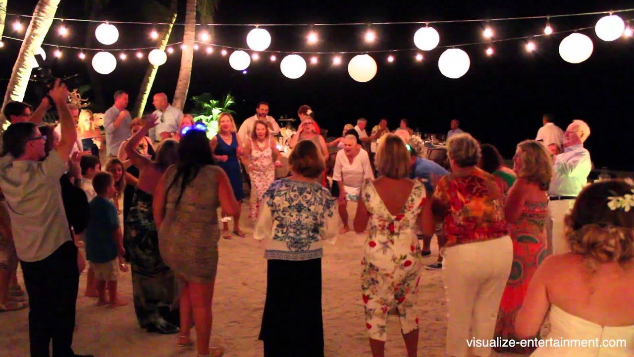 Erin Kurt S Key West Wedding Dj Lighting At The Casa Marina