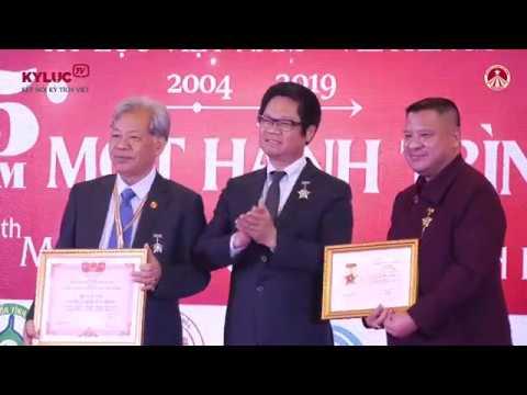 VIETKINGS - KYLUC.TV: 15 năm Tổ chức Kỷ lục Việt Nam - Hành trình tôn vinh giá trị tinh hoa Việt
