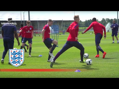 Training Camp - England U19 Prepare For 2016 Under-19 Euro Finals | Inside Training