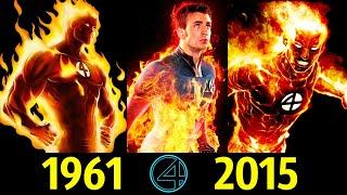 🔥 Человек Факел - Эволюция (1961 - 2015) ! Все Появления Джона Шторма 😎!