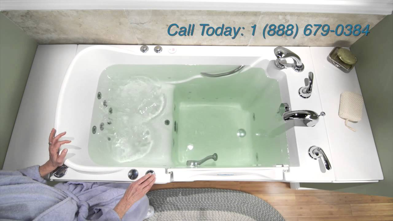 safe step walk in tub youtube - Step In Bathtub