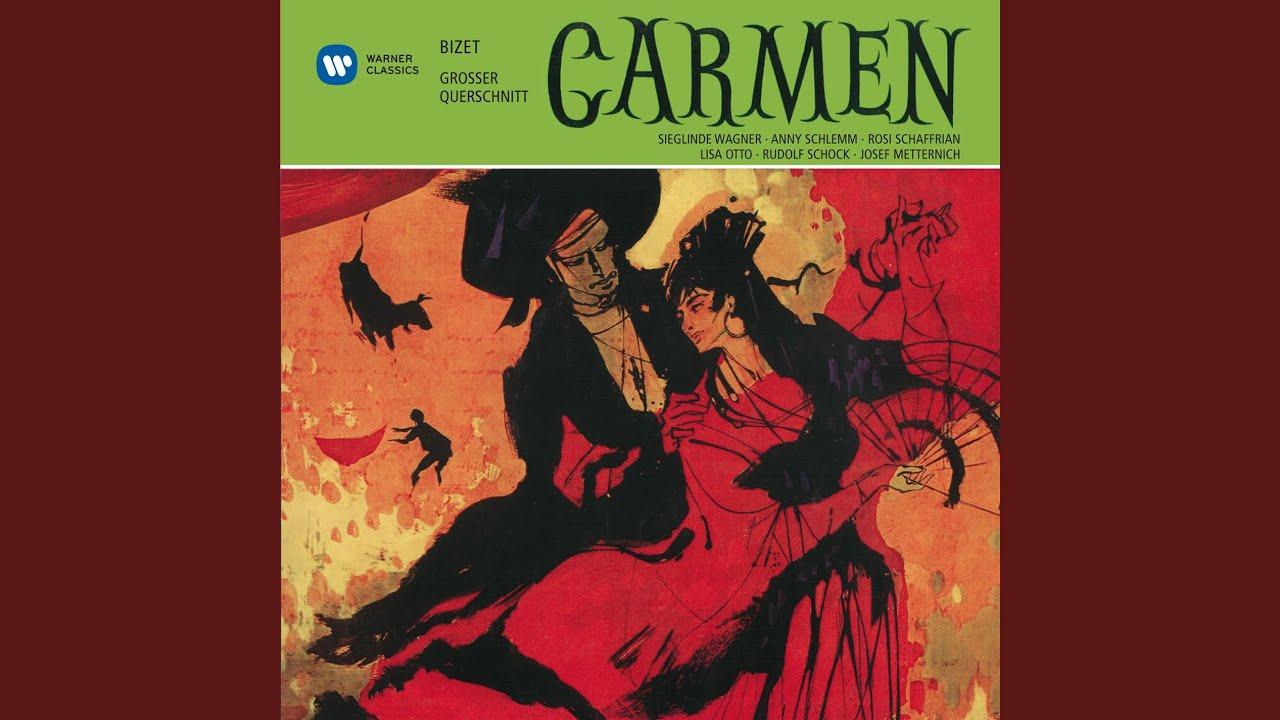 CARMEN · Oper in 4 Akten · Großer Querschnitt, deutsch