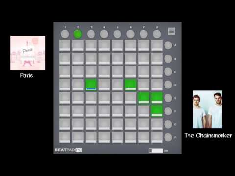 [BEATPAD] The Chainsmokers - Paris (Ben Maxwell & SCRVP Remix) Cover