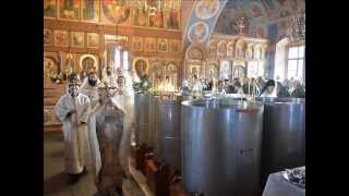 As many of you have been baptised into Christ (Orthodox hymn in Greek and English)