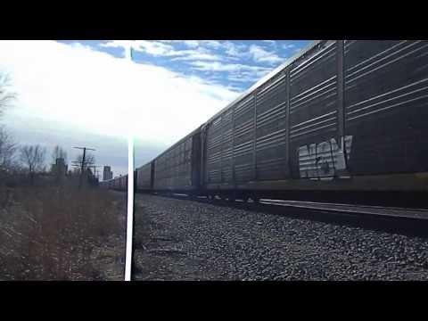 BNSF Freight Train in Sedgwick, Kansas