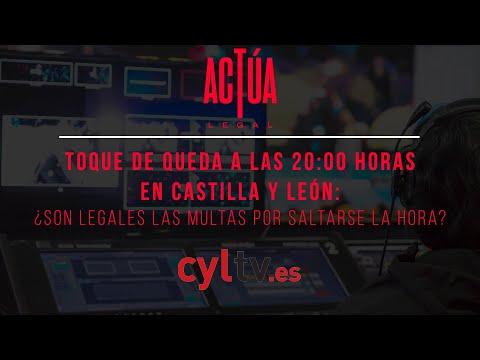 Toque de queda a las 20:00 horas en Castilla y León: ¿son legales las multas por saltarse la hora?
