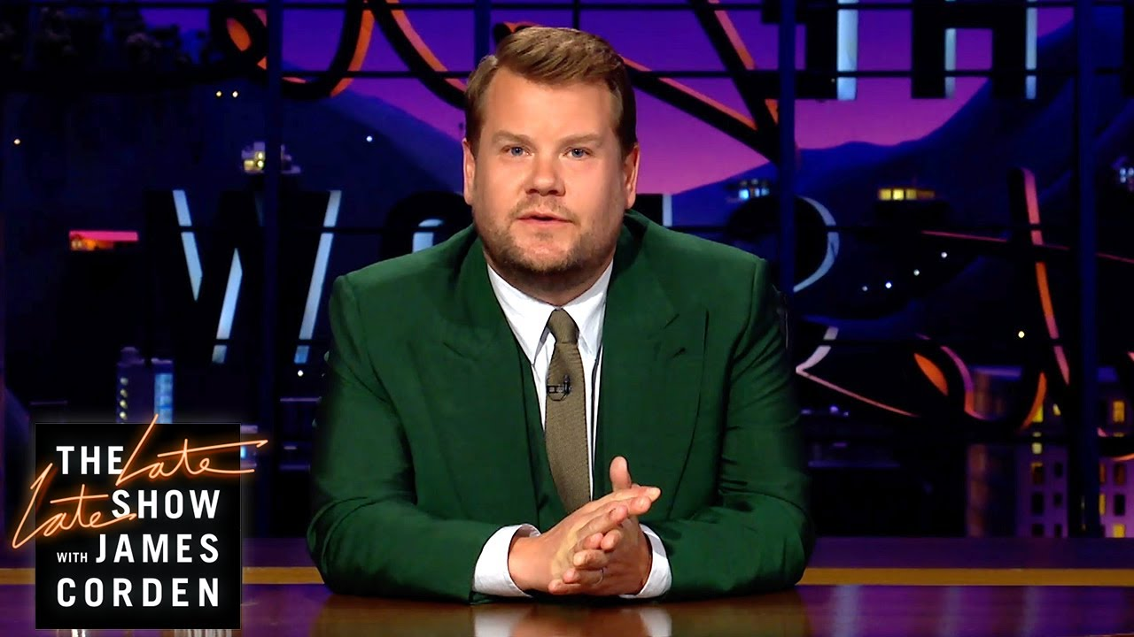 James Corden Pays Tribute to Norm Macdonald