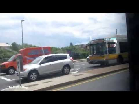 TheMBTADog: MBTA Bus 9703 Ride - BRIGHTON HIGH SCHOOL to JACKSON SQUARE [NABI CNG 2239]