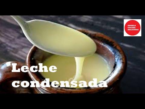 Cómo hacer leche condensada casera/Condensed milk
