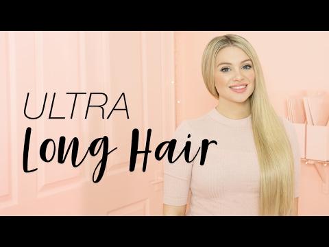 Ultra Long Hair | Milk + Blush Hair Extensions