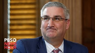 WATCH: Indiana governor Eric Holcomb gives coronavirus update -- March 24, 2020