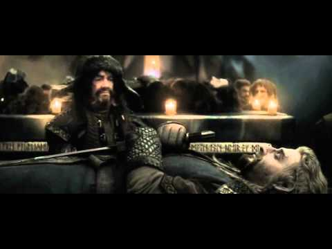The Hobbit - Thorin's, Fili's & Kili's Funeral (Extended Edition HD)