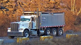 Tri-Axles Galore! | Trucks Around The Slate Belt