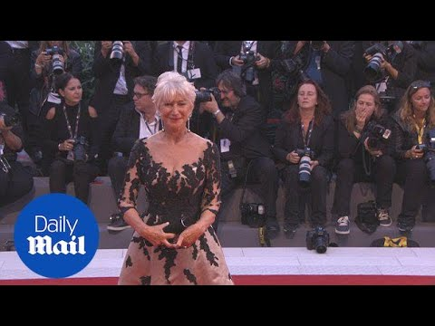 Helen Mirren stuns at the Venice Film Festival in September - Daily Mail