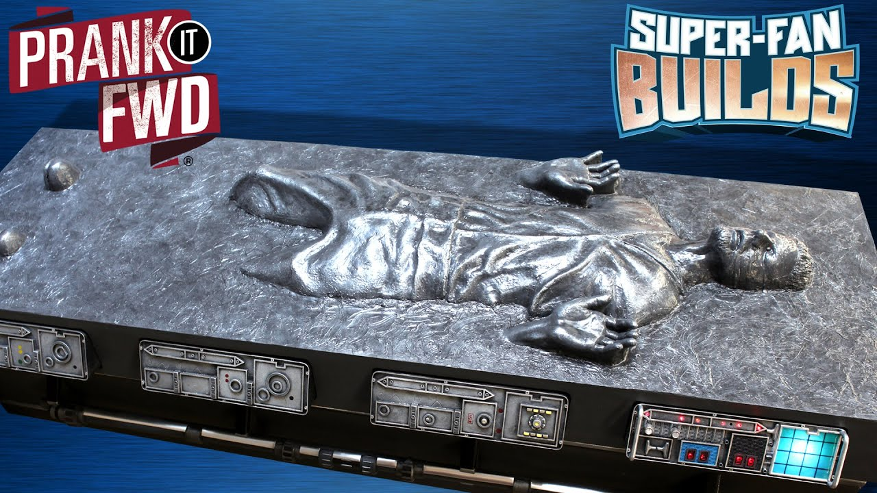 Han Solo in Carbonite Star Wars Coffin Coffee Table – SUPER FAN