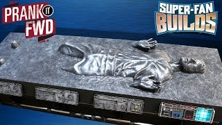 han solo in carbonite star wars coffin coffee table super fan builds prank it fwd